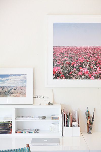 How to Create a Home Office Space | Camille Styles