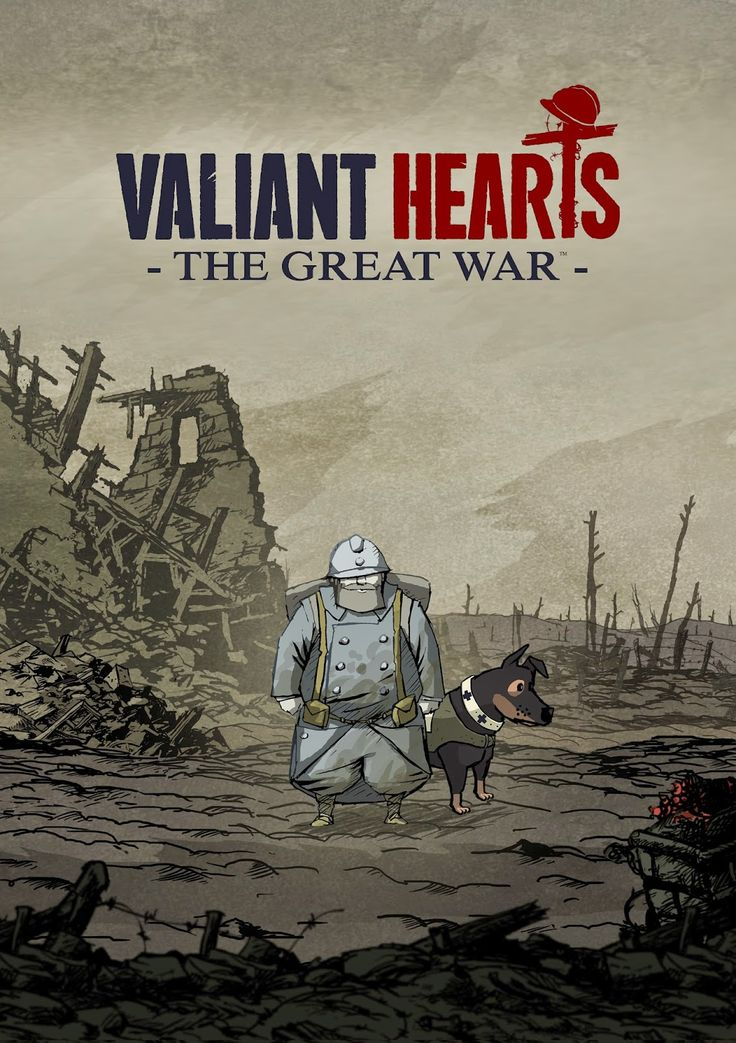 Valiant Hearts - The Great War. Just got started on this game today and it is absolutely amazing and heartfelt. It's already shredding my heart to pieces.