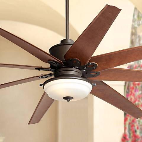 72 predator frost light english bronze outdoor ceiling fan