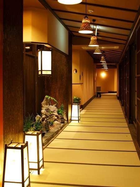 Japanese-style hotel.  Kusatsu, Gunma, Japan
