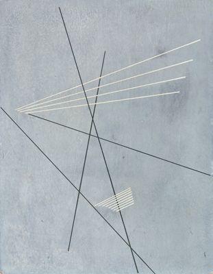 Aleksandr Rodchenko / Linear Construction, 1919
