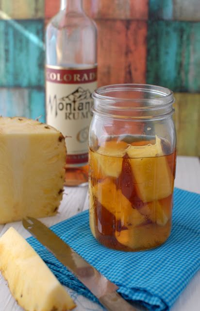 Homemade Pineapple-Infused Rum | Boulder Locavore