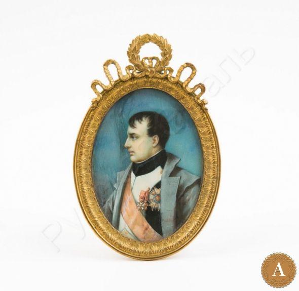 Миниатюра в раме «Наполеон»