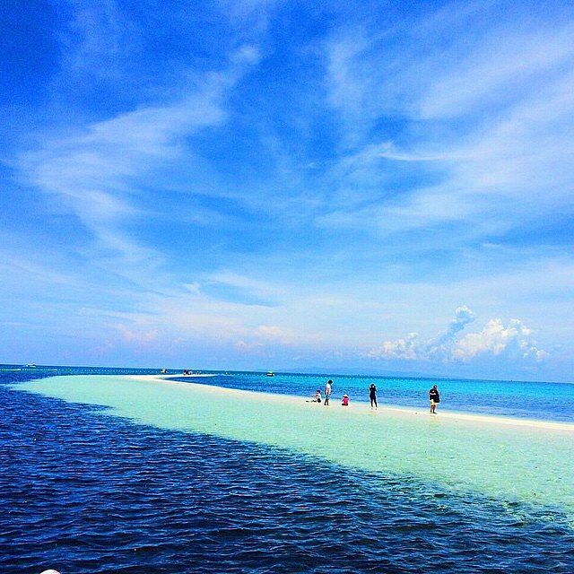 Virgin Island - Bohol, Philippines --- Photo by @sijampong --- #bohol…