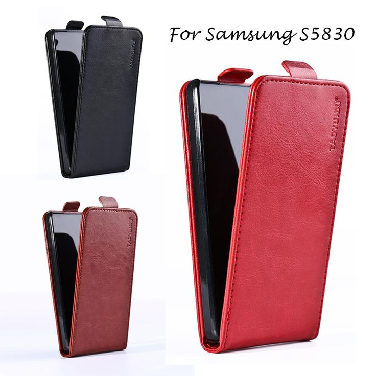 Luxury PU Leather Flip Cases For Samsung Galaxy Ace S5830 S5830I GT-S5830i 5830 3.5 inch cases Houisng Magnetic Holster shell