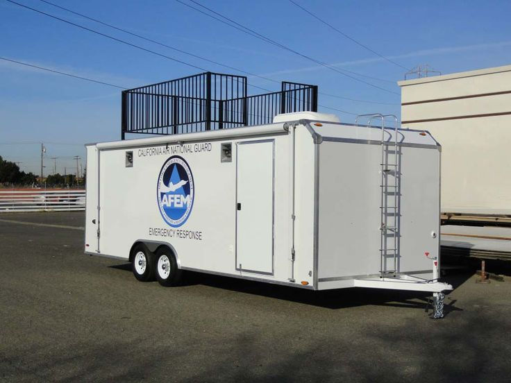 Custom enclosed Mobile Command trailers Emergency