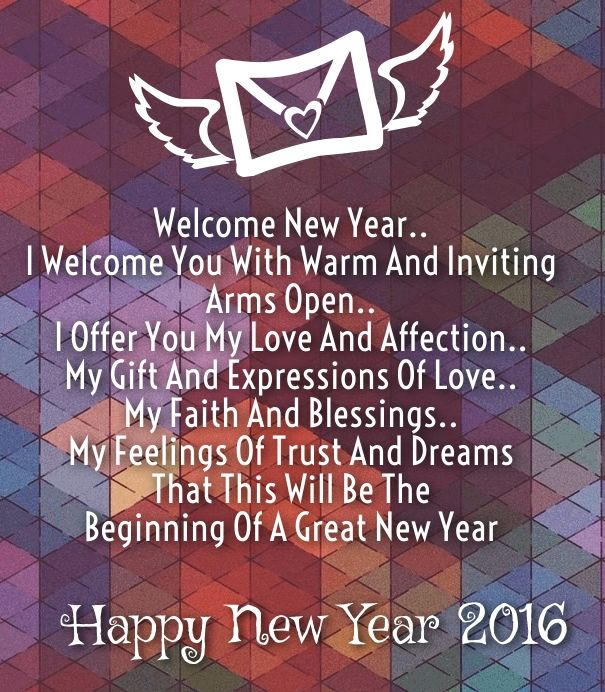 Love poems quote happy new year 2016