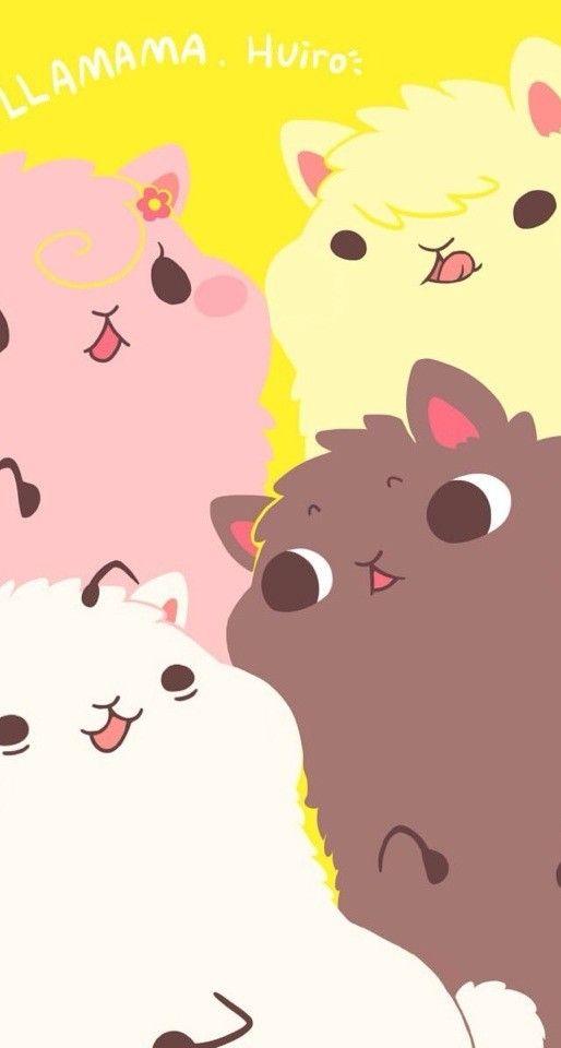 Cute Alpaca Wallpaper Iphone5 ♡ Cute Patterns Wallpapers ♡ Cute Patterns