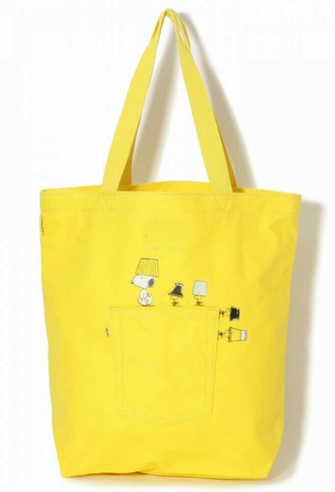 Durable Yellow Re-Usable Cats Handmade Fabric Shopping//Tote Bag