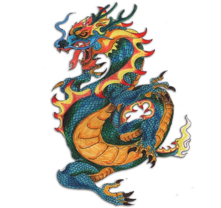 Types Of Dragon Tattoo Ideas: Different Types Of Japanese Dragons