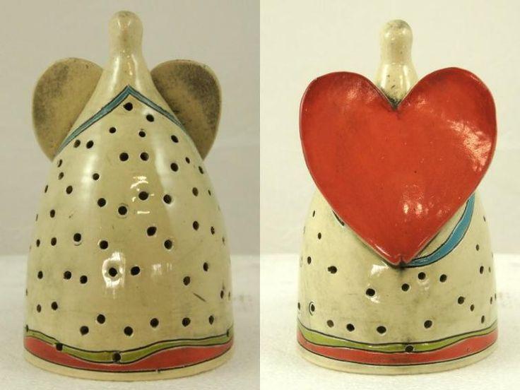 Engel van Elza van Dijk, Pretoria, Zuid Afrika, design, fairtrade, eerlijk, mooi, kado, cadeau, geschenk, exclusief, aardewerk, ceramics, decoratie, kaars, waxine