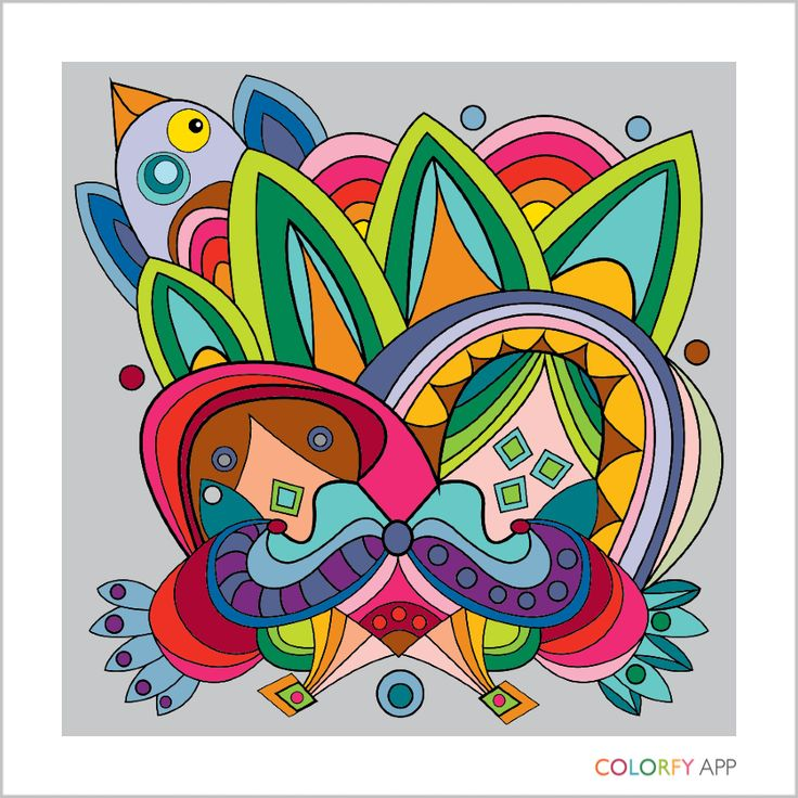 Colorfy Colorfyapp Getinspired Exotic Coloring Book