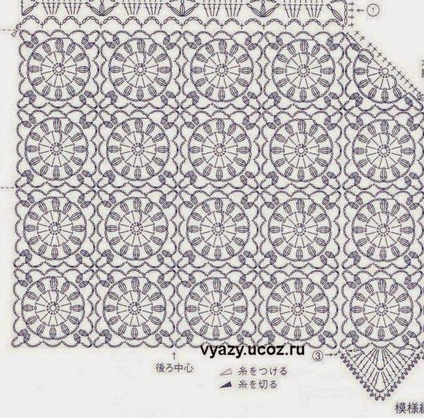 12 best crochet vest 1 images on pinterest crochet chart the best in internet crochet chart ccuart Gallery