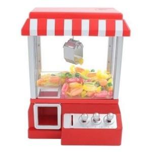 Machine attrape-bonbons, le cadeau insolite par excellence ! Redécouvrez le plaisir de la fête forraine avec ce gadget original et décalé. Le cadeau parfait pour toute occasion (Cadeau Saint-Valentin, Cadeau Anniversaire...) ! N'hésitez plus et venez découvrir la machine attrape-bonbons !