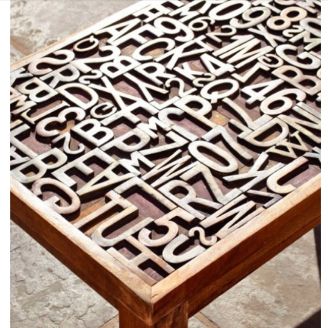 Great end table or Coffee table idea! | Type and GD ...
