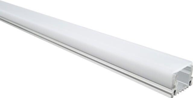 Un accesoriu de montaj din aluminiu practic si estetic cu dispersor alb mat in forma de U, ce confera un aspect estetic.PROFIL ALUMINIU MAT PLIN APLICAT 100CM, este potrivita pentru benzi LED de 8mm. Accesorii montare incluse.