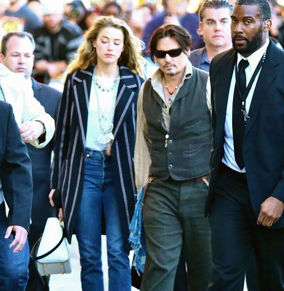 Le mariage de Johnny Depp et Amber Heard serait déjà fini | HollywoodPQ.com