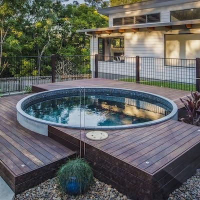 18 Best Swimming Pools Images On Pinterest Backyard