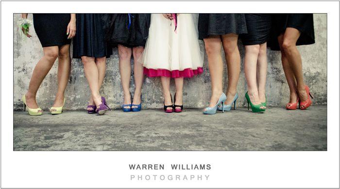Kim and Greig, Bluebird Garage - Warren Williams