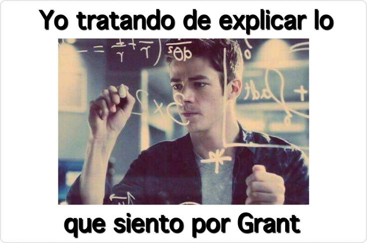 Don't know what it means but grant is cute
