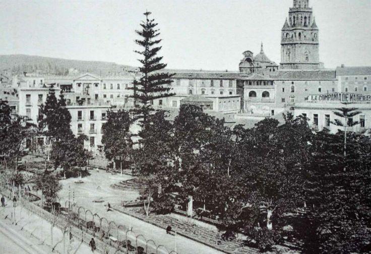 Jardín de Floridablanca alto via museo huertano de murcia