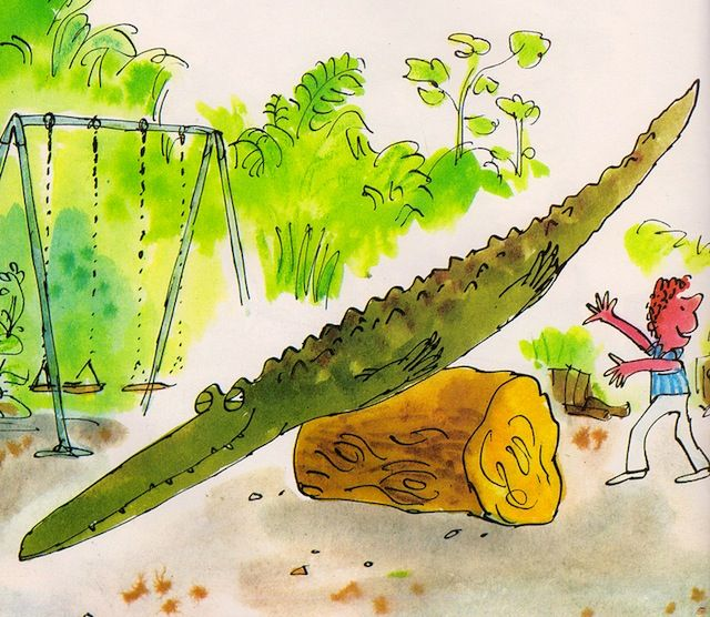 Quentin Blake The Great Big Enormous crocodile