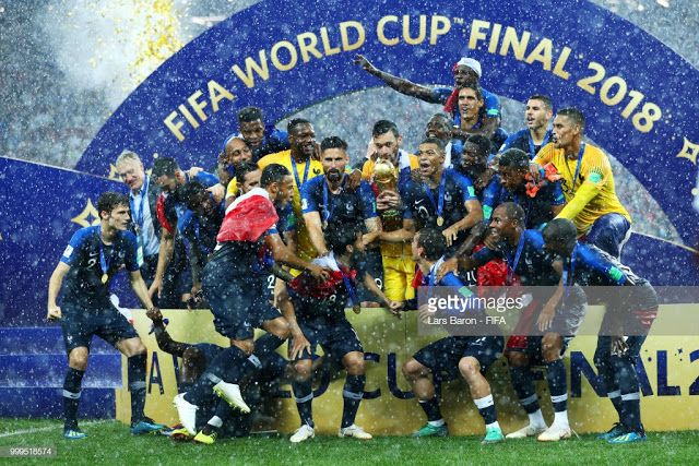 Raissa S Blog Best Of Health Culture Technology And Entertainment Records Broken As France Triumphs At The 20 World Cup World Cup Trophy World Cup Final