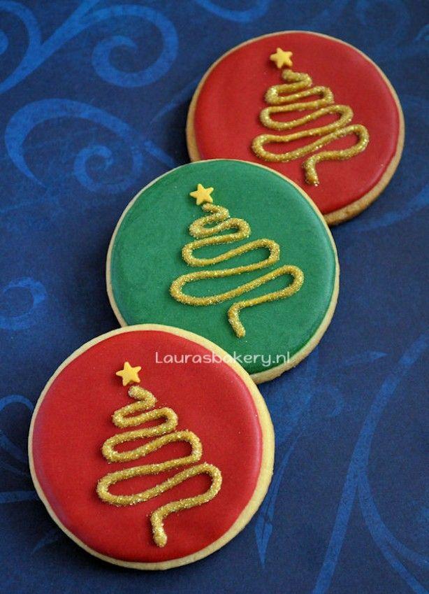 how to voor prachtige kerstboom koekjes Check more at http://hrenoten.com