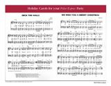 """'Tis the season for caroling. Get singing with printable Christmas sheet music for """"Jingle Bells,"""" """"Deck the Halls,"""" """"We Wish You a Merry Christmas,"""" and """"Up on the Housetop.""""  #Christmas #music #printables"""