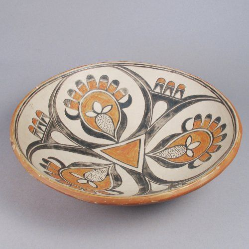 San Ildefonso Pueblo bowl c. 1920 by Maria and Julian Martinez