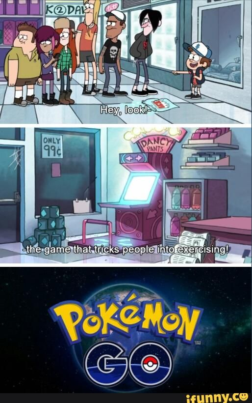 pokemon, pokemongo, gravityfalls