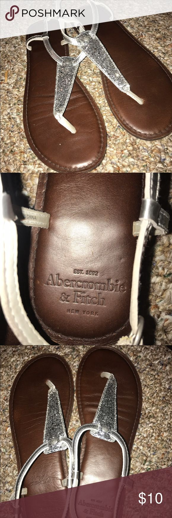 Abercrombie and Fitch sandals Cute, I never wear them anymore! Comfy Abercrombie & Fitch Shoes Sandals
