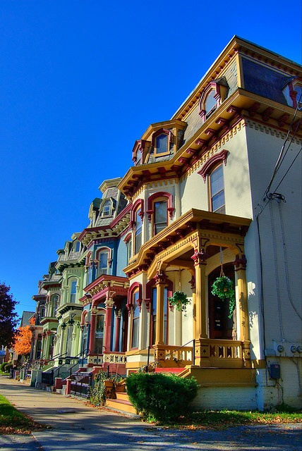 ✮ Saratoga, NY. Lived in the first building, second floor!