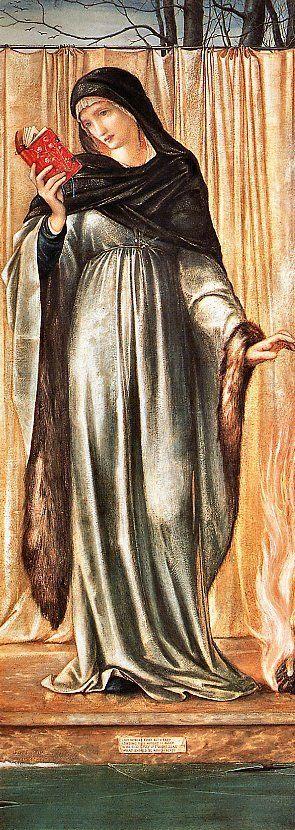 Edward-Burne Jones The Seasons, Winter: