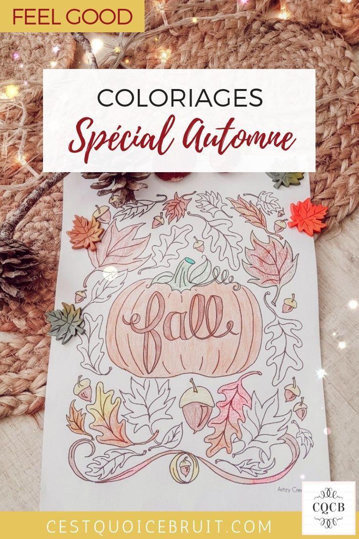 Coloriage Anti Stress Automne.Coloriage Automne Enfant Et Adultes Coloriages Zen Et Anti Stress