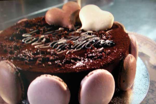 Chocolate Macaroon Cake Raymond Blanc