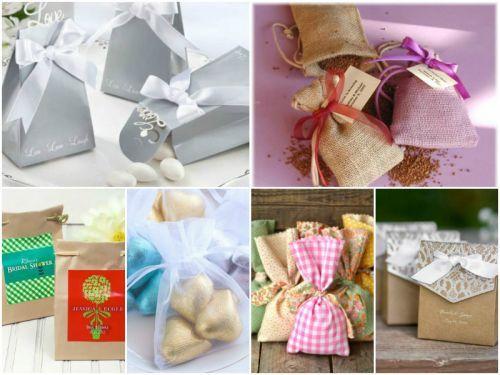 Köszönőajándék tasakok és kézzel készített egyedi csomagolások