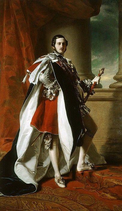 Принц Альберт (1819-61). Франц Ксавьер Винтерхальтер