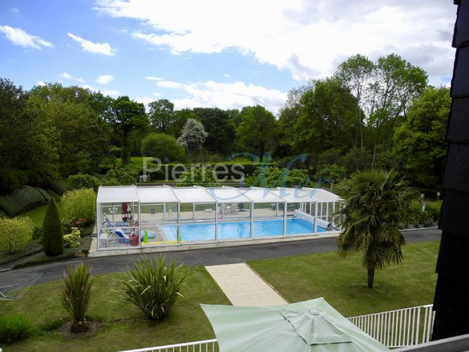 Les 25 meilleures id es de la cat gorie b che de piscine for Amenagement jardin 200m2