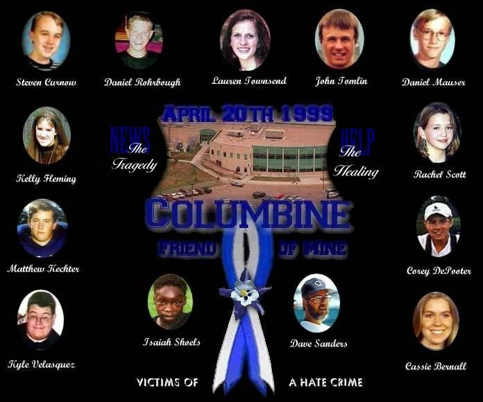 Columbine High School Shooting: Columbine Tragedy April 20, 1999, Two Students Go On A