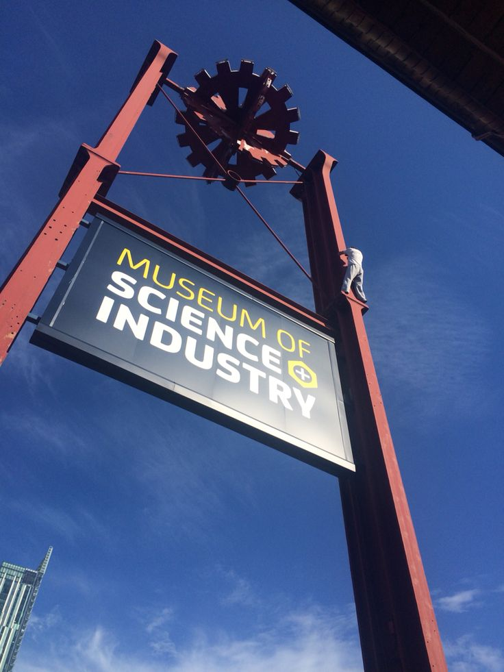 Manchester science museum- MOSI Industry.