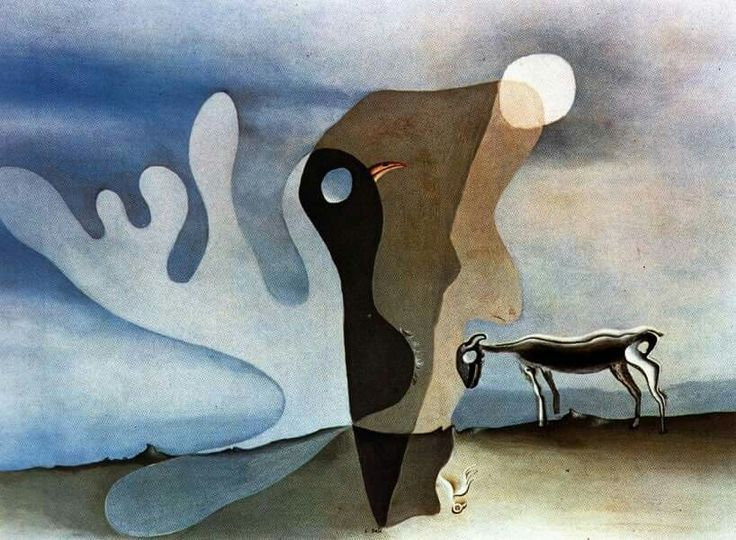 Salvador Dalí La vache spectrale, 1928