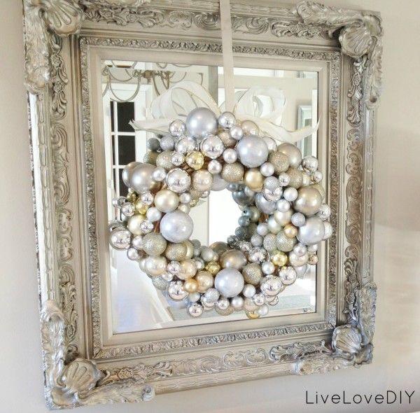 White Vintage  DIY Christmas Ideas