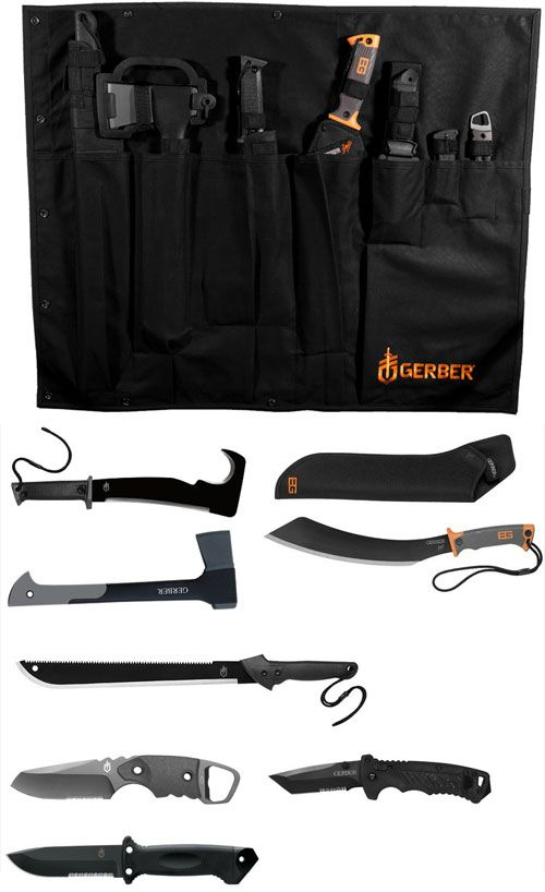 As seen on The Walking Dead. The Gerber Zombie Apocalypse Survival Kit gives you all the tools you'll need to stave off the hoards of undead soon to take over.