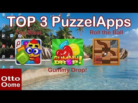 Top 3 Puzzel Game Apps Maart 2017 - Youtube