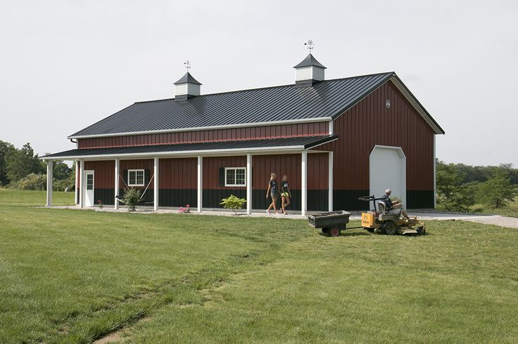 1843 best barn love images on pinterest architecture for Morton building house