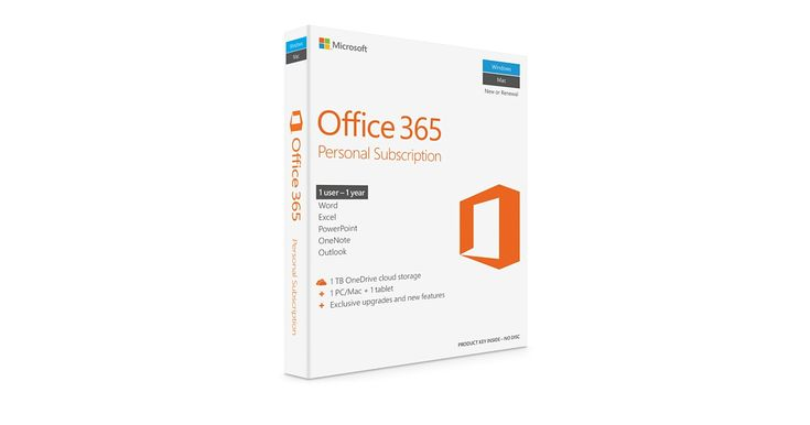 Microsoft Office 365 Personal is a one-year subscription that offers the latest versions of Word, Excel, PowerPoint, and Outlook. Buy online now at apple.com.