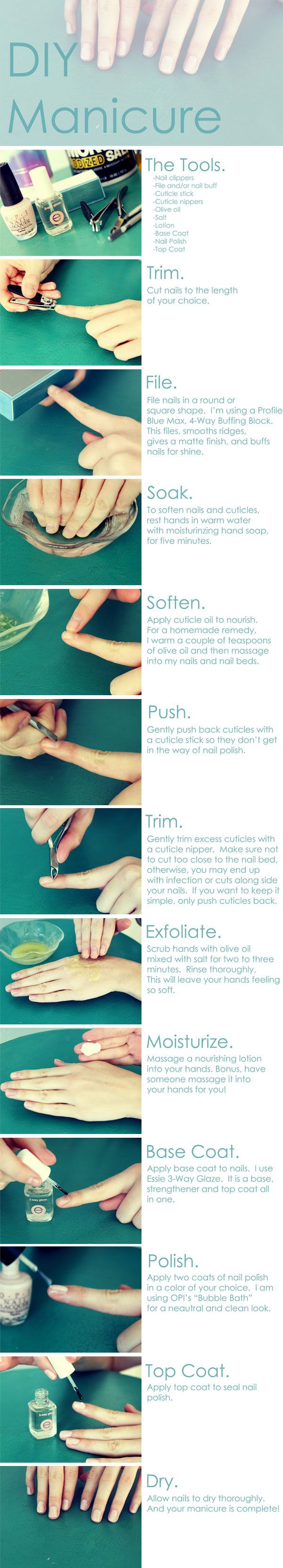 Best Diy Manicure, Its Not Just About A Great Color, Its Also About Clean