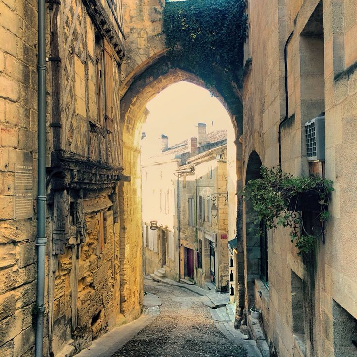 """Saint Emilion - France A """"must see"""" if traveling anywhere near South West France."""