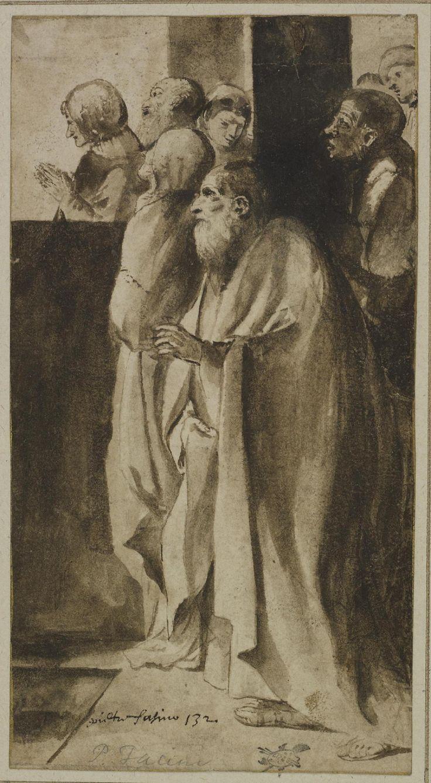 pietro faccini fatto conoscere a Guercino da Antonio mirandola nel 1612